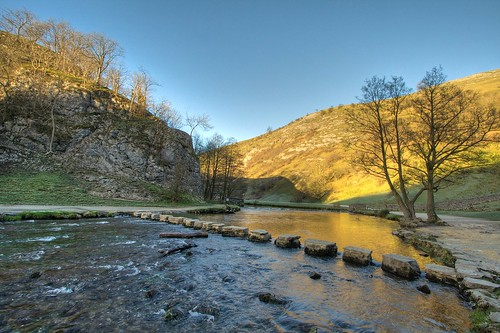 Dovedale Stepping Stones - River Dove, Derbyshire | by MrFreekie