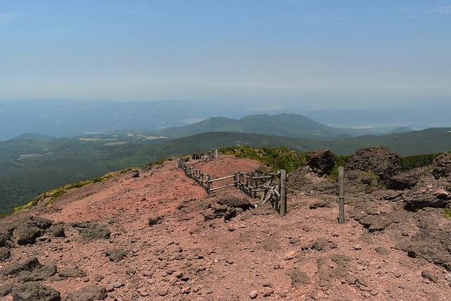 韓国岳 えびの高原方面の登山道