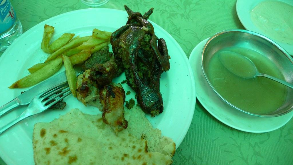 烤鴿子風味餐, on Flickr