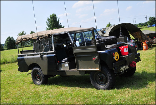 Wartime In The Vale 2010 Land Rover Series 2 109 Quot Ffr Flickr