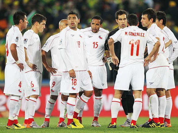 Chile Vs Brasil Mundial De Sudafrica Vos De Final Jun