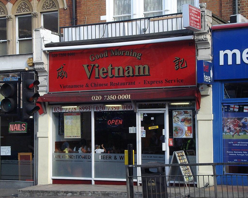 Good Morning Vietnam In Vietnamese : Good morning vietnam battersea london sw vietnamese