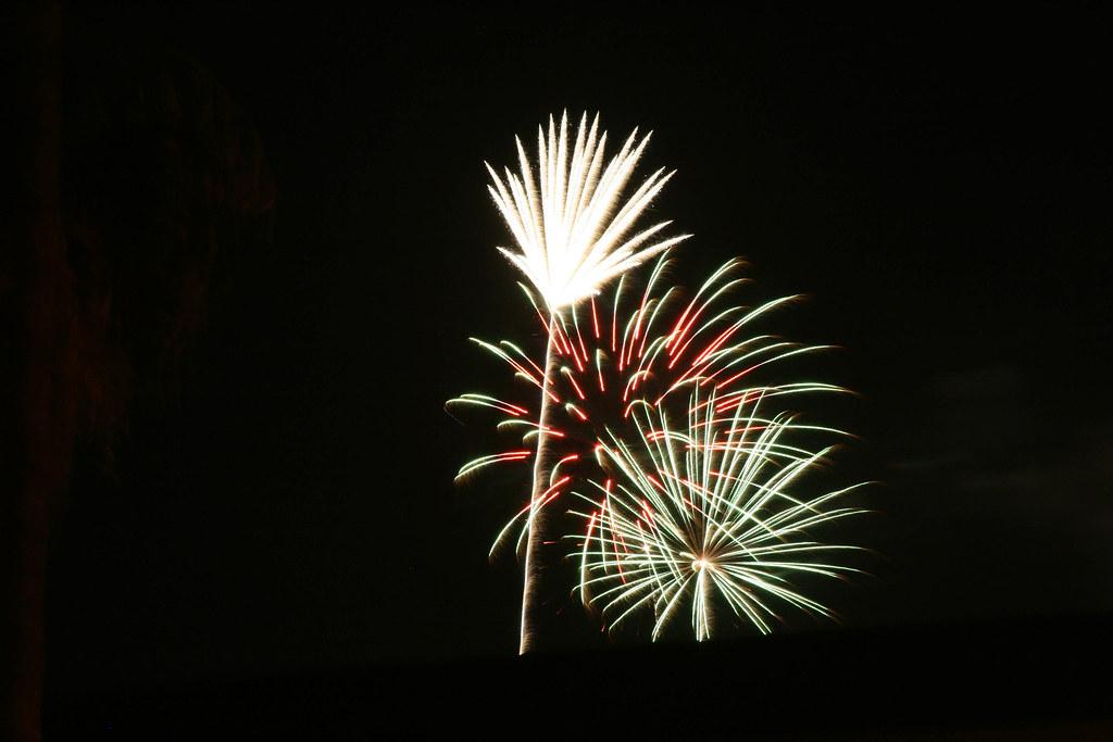 Tempe Beach Park Fireworks