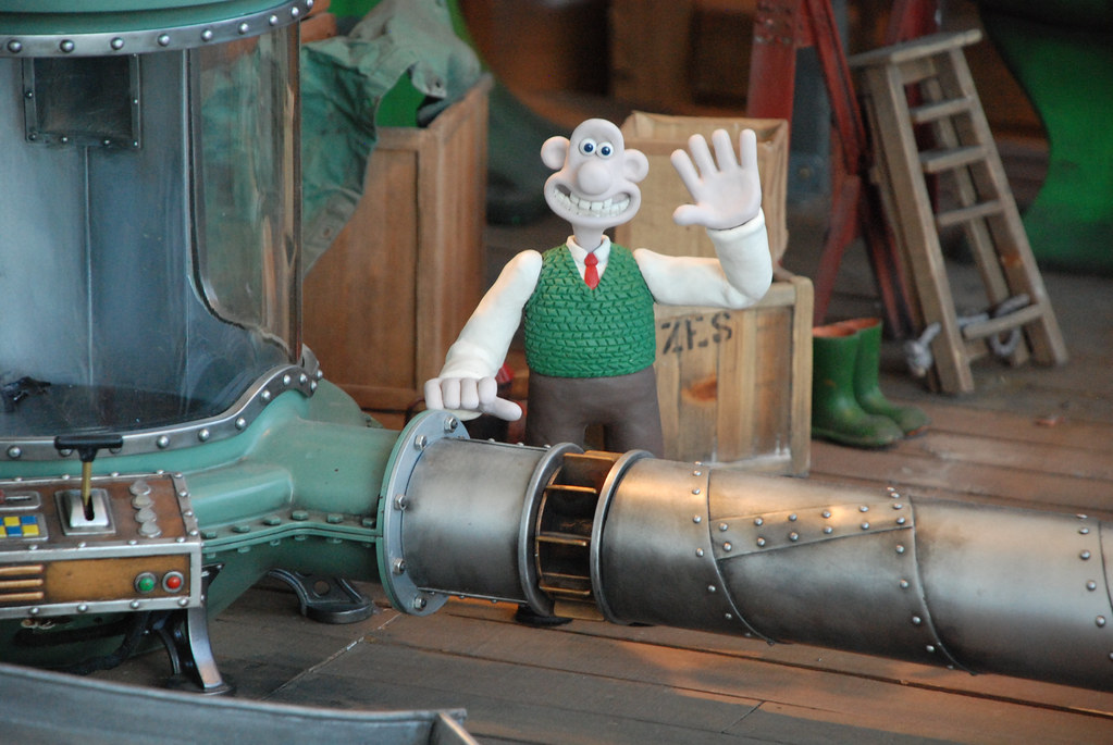 Aardman Wallace and Gromit Cracking Ideas exhibit at the G… - Flickr