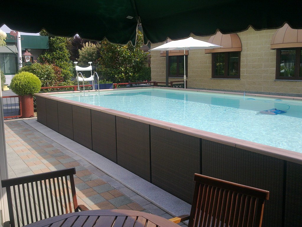 Dv country ft 49 1 dolcevita country 4x9 con for Piscine laghetto