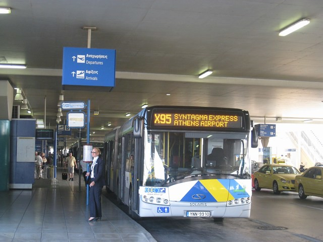 Из аэропорта афин в центр города