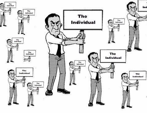 """the difference between the individualism and Understanding the difference between """"individual rights"""" and government-provided """"privileges"""" is as important as understanding the difference between freedom and slavery."""