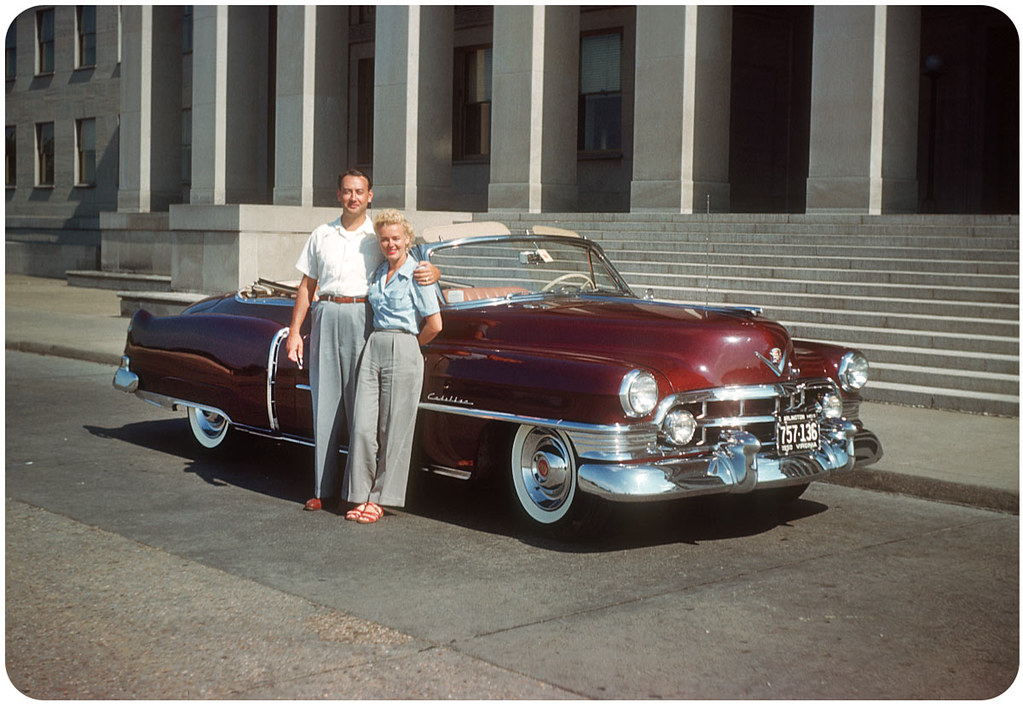 Cadillac In D C 1950s Marilyn Monroe Look Alike And