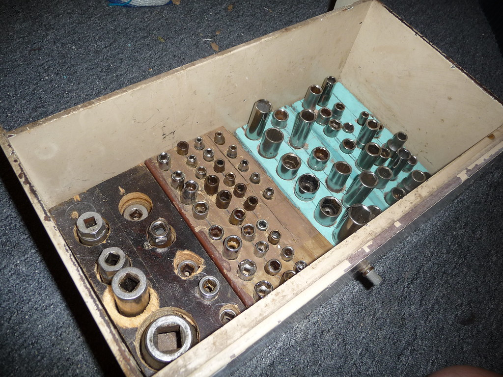 Homemade customized socket organizer tools come to us in for Socket organizer ideas