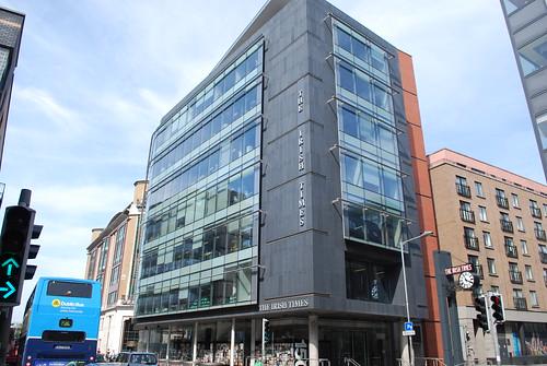 Dublin the irish times building tara street le monde1 flickr - Irish times office dublin ...