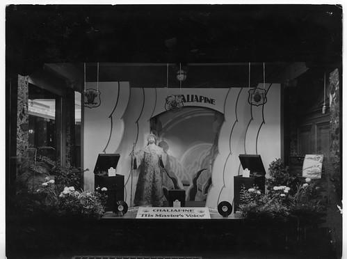 Aeolian Hall - New Bond Street - Chaliapine display October 1927