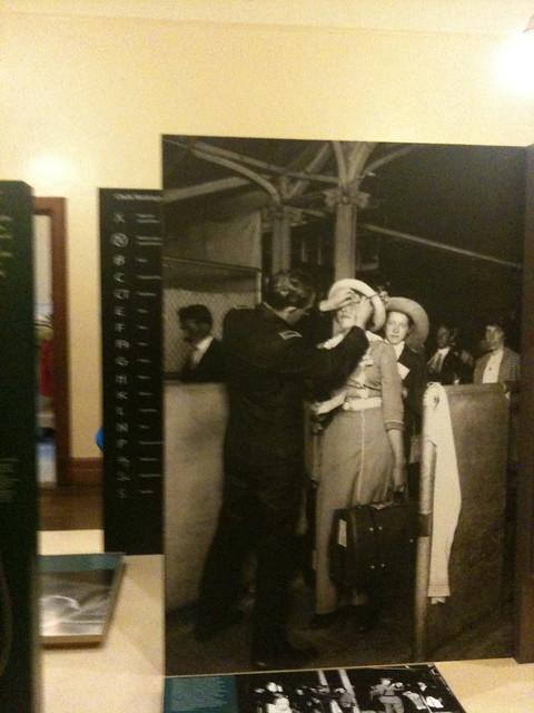 Ellis Island Checking Papers