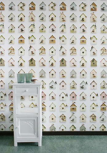 birdhouse wallpaper | by the style files