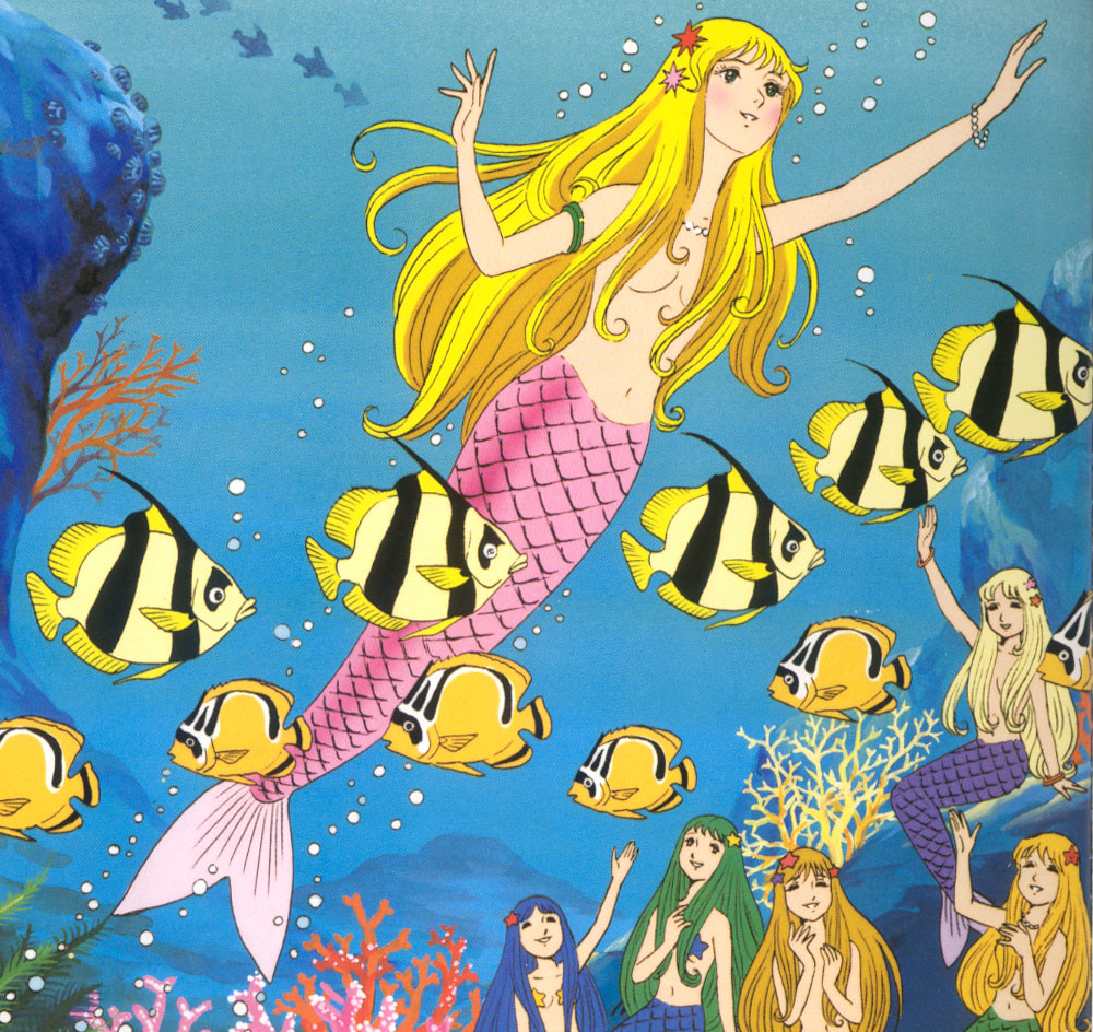 Japanese Anime Mermaids Pictures To Pin On Pinterest