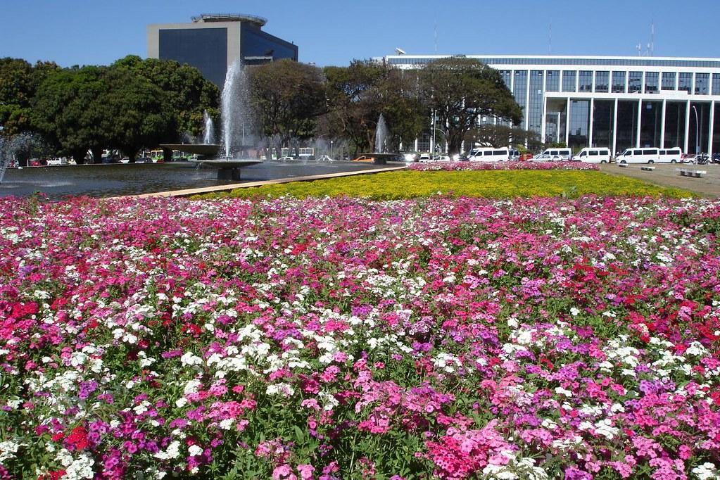 Jardins pra a do buriti brasilia a fundo o pr dio da for Esplanada dos jardins 1
