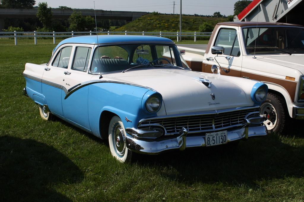 1956 ford fairlane 4 door richard spiegelman flickr for 1956 ford fairlane 4 door