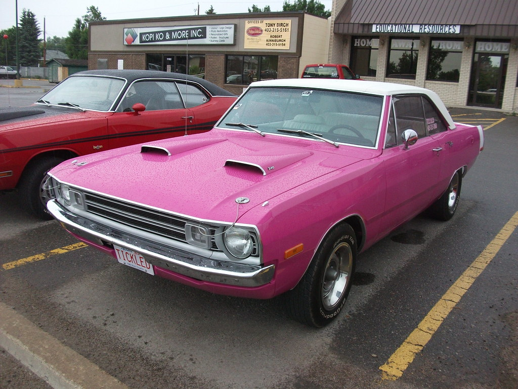 1972 Dodge Dart Swinger 1972 Dodge Dart Swinger In Pink
