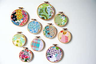 crazy patchwork mash ups in hoops | by danstina
