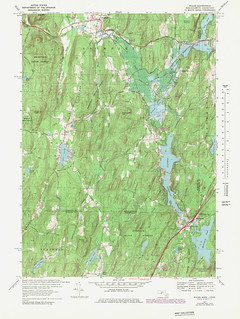 Wales Quadrangle 1979 - USGS Topographic Map 1:25,000 | by uconnlibrariesmagic