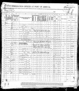 Saint Paul Passenger Manifest - Oct. 1920 | by waistdeep