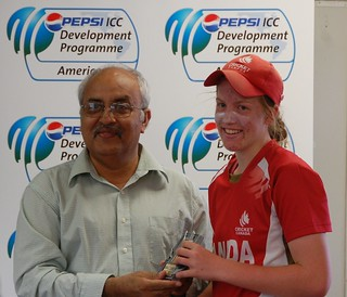 Mikaela Turik wins player of the match for 1st T20 | by Cricket Canada
