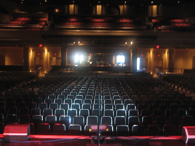 Hard Rock Live Orlando View From The Stage Flickr