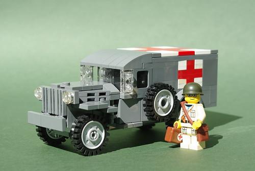 Dodge WC54 Ambulance (1) | US Army Medical Corps medic ...