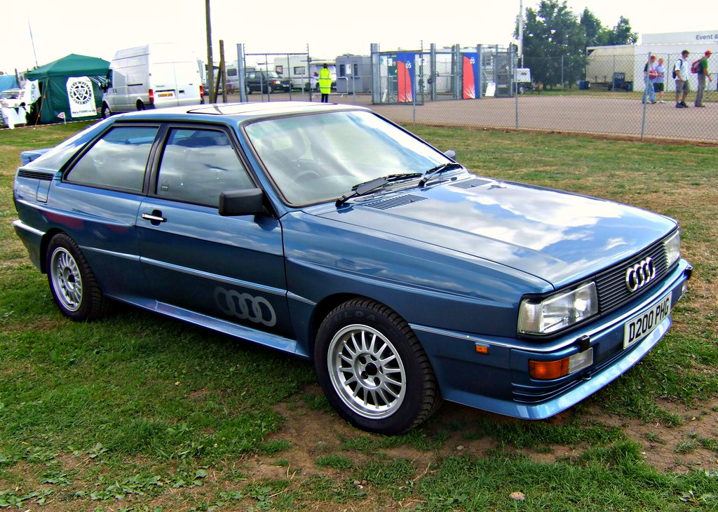 Audi 2 0 T >> 1986 Audi Quattro 2.1 RHD | A facelifted ur-quattro spotted … | Flickr