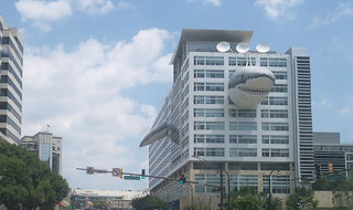 likes Chompy the Discovery Channel building shark. Just another reason to move to Downtown Silver Spring | by paulidin