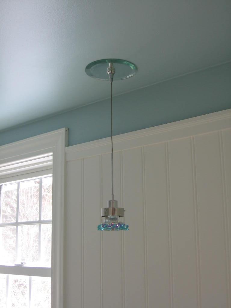Pendant Lighting Over Vanity : Pendant over vanity schonbek light turquoise