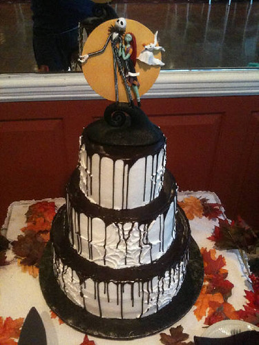 A Nightmare Before Christmas Wedding Cake Conti S Pastry
