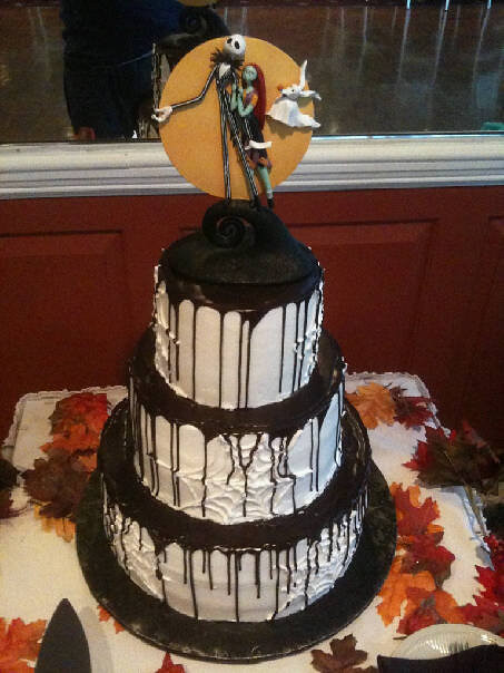 nightmare before christmas wedding cake ideas a nightmare before wedding cake conti s pastry 17891