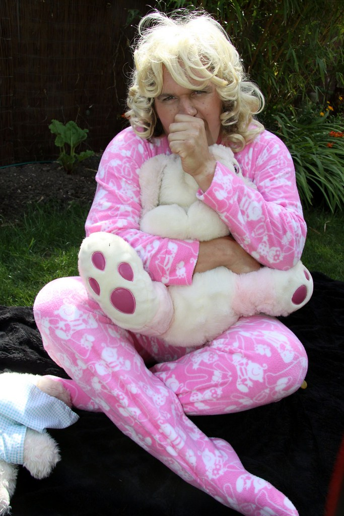 Big Baby Sammy In Her Footed Pj S This Is Me In My Pink