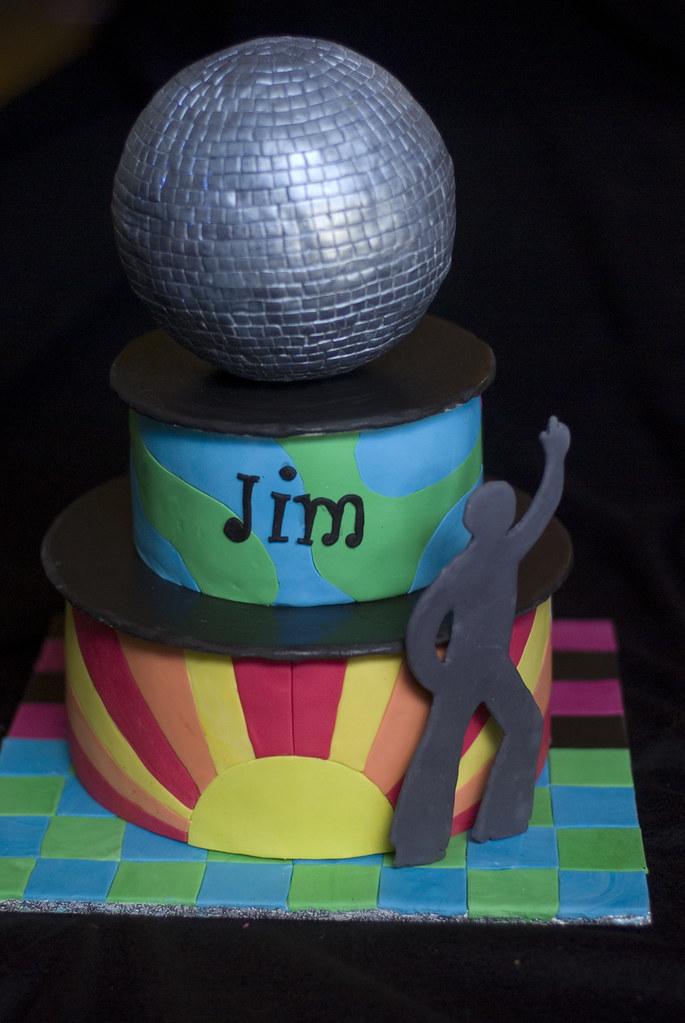 Disco Ball Cake Designs