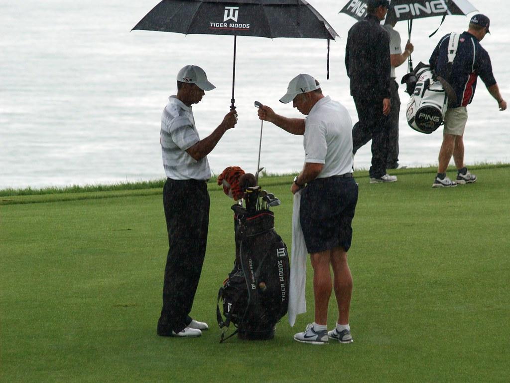 Tiger Woods Pga Tour  Course Pins