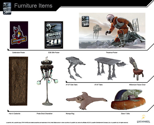 Star Wars: The Empire Strikes Back items for PlayStation Home (PS3) | by PlayStation.Blog