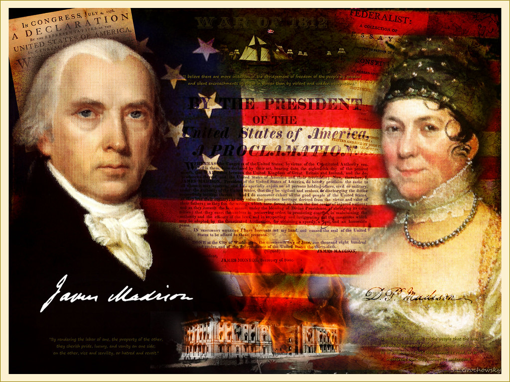 the life of dolly madison as the wife of president james madison Wife of 4th president james madison--major  visit the home of president james madison and first lady dolly madison of what life was like for former.