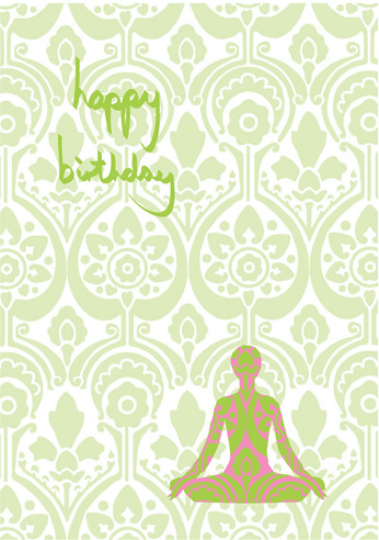 Yoga Birthday Card A Yoga Birthday Card That Can Be Used F Flickr