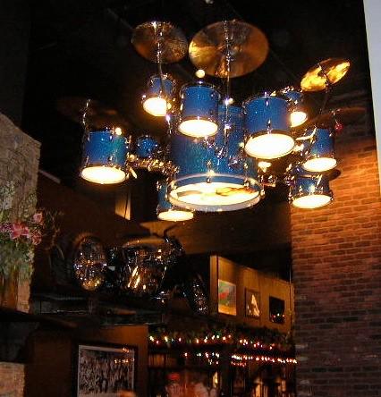 Drum Lights At Hardrock Chandelier Drummaker Com