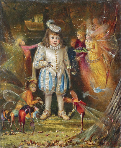 "John Anster Fitzgerald, ""Fairyland"" 