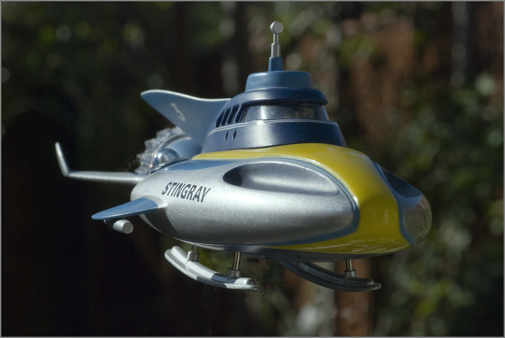 Stingray Product Enterprise Model From Gerry Anderson
