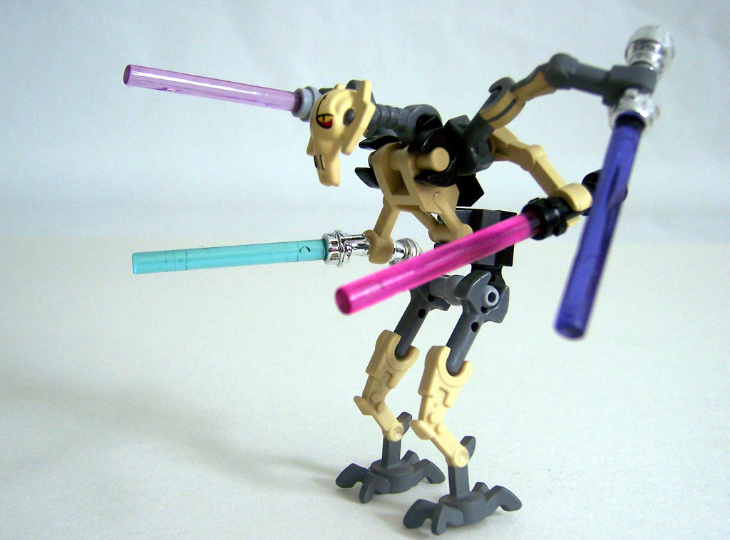 how to get past general grievous in lego star wars