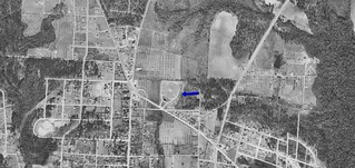 Cairo Drive-In aerial photo 1952 | by OzonerGPS