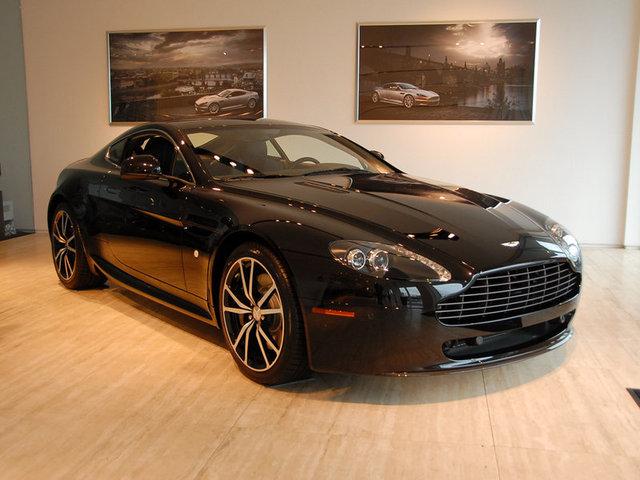 2011 Aston Martin V8 Vantage N420 Carbon Black Ma008 Flickr