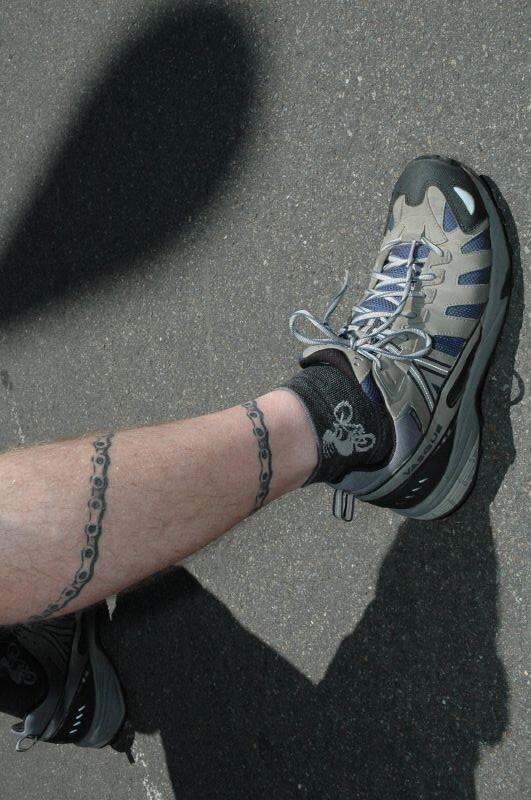 Bike Chain Tattoo Venetia Kelley Flickr
