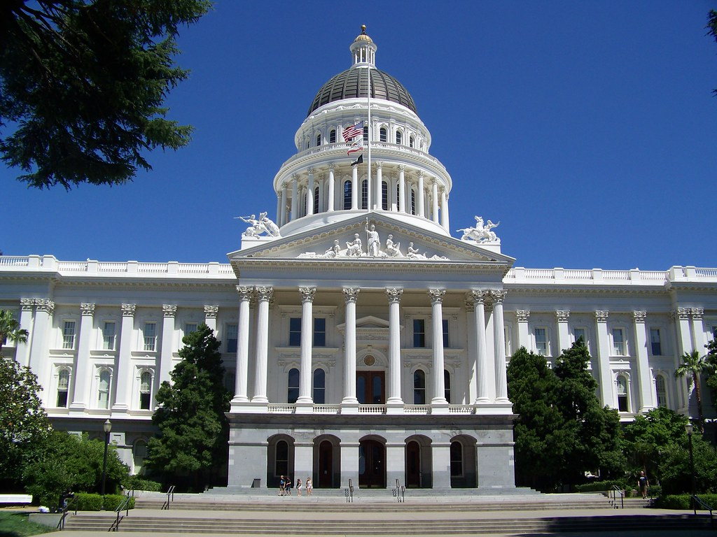 Caifornia State Capitol Building Pictures