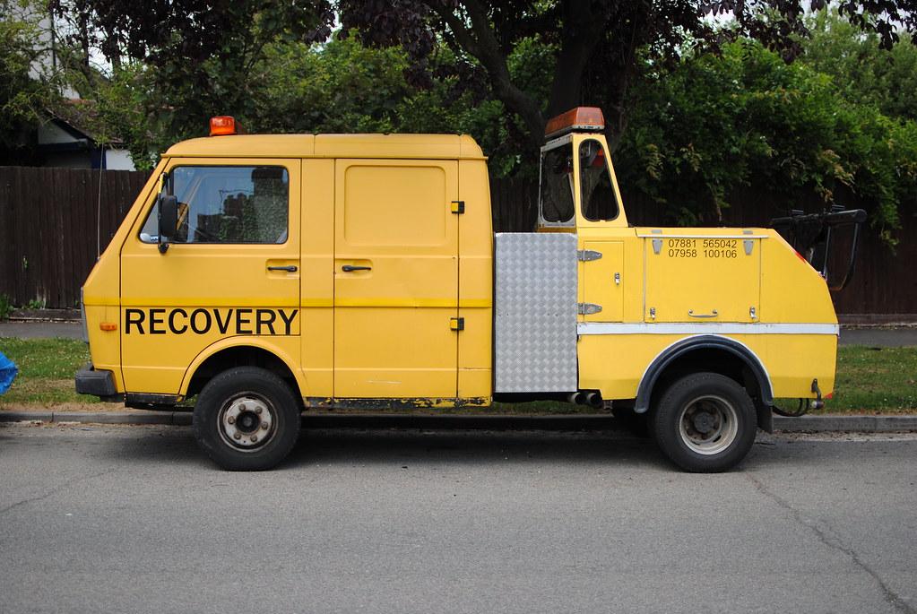 1989 Volkswagen Lt35 Recovery Truck Andy Flickr