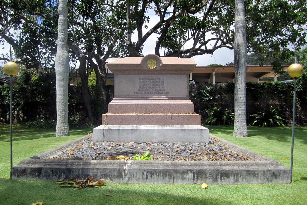 O Ahu Honolulu Nu Uanu Valley Royal Mausoleum Of Hawa