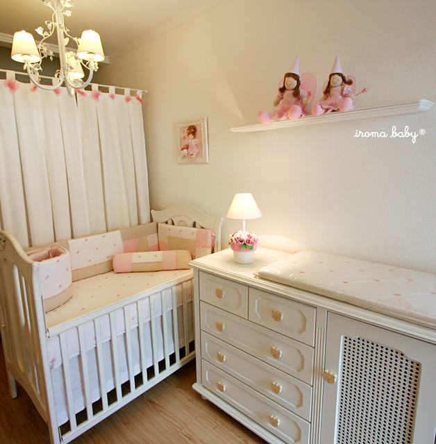 Quarto rosa, bege & branco Patchwork meets fairies and  ~ Quarto Rosa Gloss
