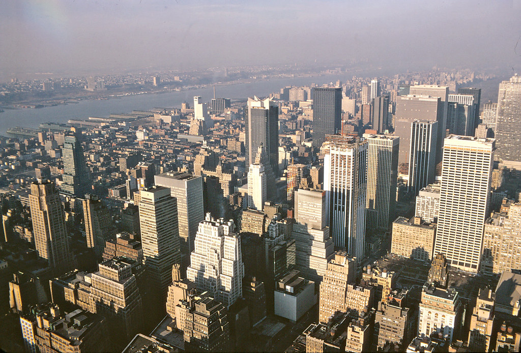 View From The Empire State Building Observation Deck New